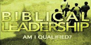 Biblical Leadership